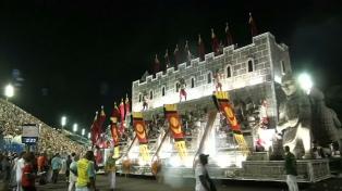 La protesta social y política, tema de los desfiles en el Carnaval de Río
