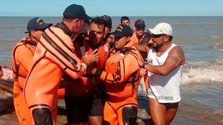 Rescataron en San Clemente al kayakista que era buscado desde el domingo