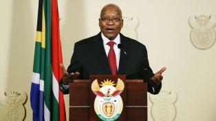 Zuma renunció a la presidencia sudafricana bajo la presión de su partido