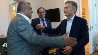 Macri recibió a Tapia por la candidatura con Uruguay y Paraguay para el Mundial