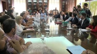 """El gobierno bonaerense destacó el """"gran esfuerzo"""" para presentar la propuesta"""