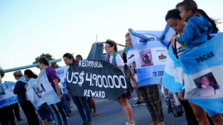 Familiares de tripulantes del submarino buscan el apoyo de los cuerpos legislativos del país en la búsqueda del submarino