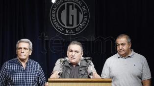 La CGT mantendrá su actual consejo directivo hasta llamar a un congreso