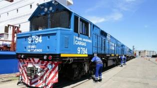 Llegaron al país 20 nuevas locomotoras chinas para la renovación del Belgrano Cargas