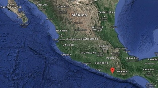 Un terremoto de 7,2 causó destrozos en Oaxaca