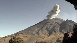 Alarma en Puebla por el volcán Popocatépetl