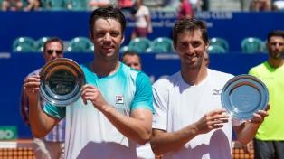 Zeballos y Molteni se consagraron campeones del Argentina Open en dobles