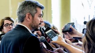 """Peña, sobre el proyecto opositor de tarifas: """"Si sale así, terminará siendo vetado"""""""