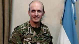 Asume mañana el nuevo jefe del Ejército, general Pasqualini