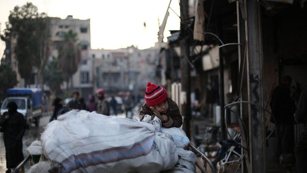 Concede Rusia tregua en región siria de Guta Oriental