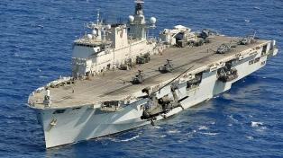 Anuncian la adquisición de un buque porta-helicóptero comprado al Reino Unido