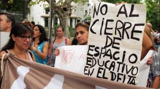 Cierran ocho escuelas del Delta y reagrupan a los alumnos y docentes