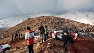 Hallaron en el monte Dena los restos del avión iraní desaparecido el domingo
