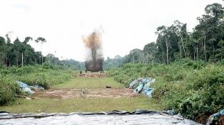 Destruyeron 15 pistas clandestinas usadas por el narcotráfico