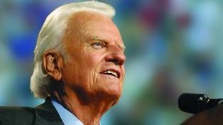 """Murió el predicador evangelista Billy Graham, """"el pastor de los presidentes"""""""