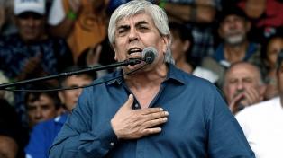 """Para Moyano, """"el Gobierno es vengativo"""" por las movilizaciones"""