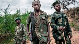 Niños fueron utilizados como soldados en 18 países desde 2016