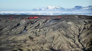 Se conmemoran los 114 años de presencia argentina en la Antártida