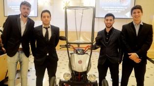 Exodia, un vehículo eléctrico para discapacitados creado en la UTN