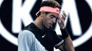 Del Potro fue eliminado en los cuartos de final del ATP de Delray Beach