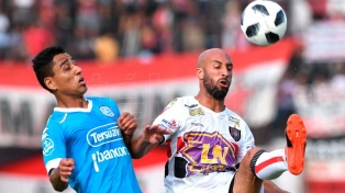 Belgrano se prepara con el mismo equipo para recibir el viernes a Patronato