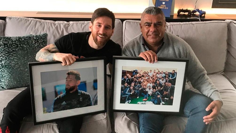 Agencia Chiqui Tapia Recibió A Télam Barcelona En Messi thBsQxCrd