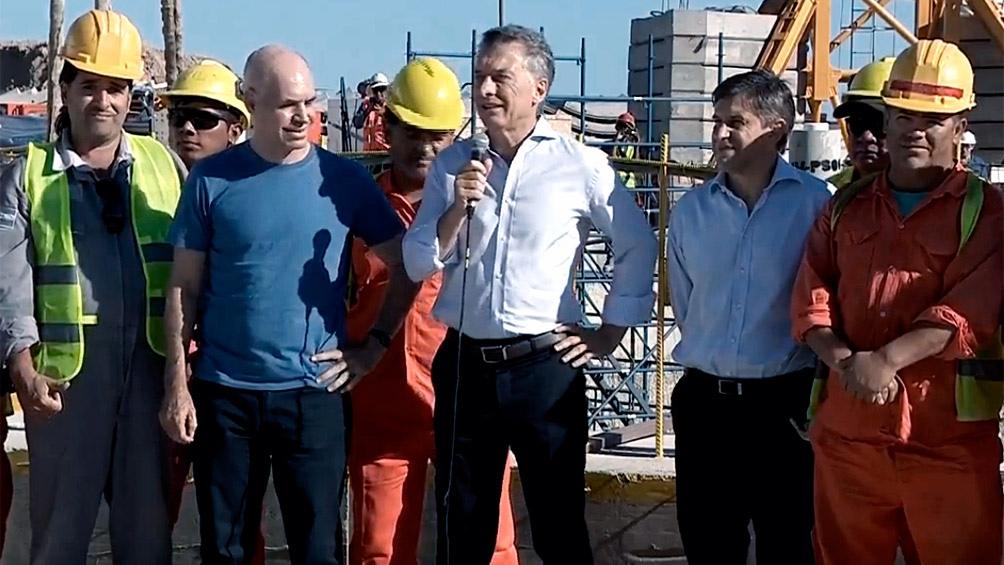 """Resultado de imagen para Macri: """"La Argentina necesita muchas obras en marcha, que den trabajo mientras se hacen"""""""