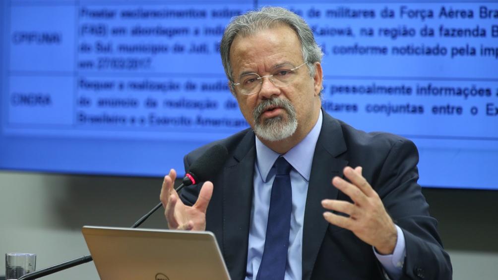 El titular del nuevo ministerio de seguridad destituy al for Ministerio de policia nacional