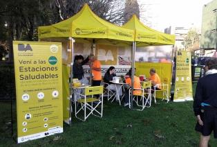 Lanzan una campaña de vacunación gratuita en Estaciones Saludables porteñas