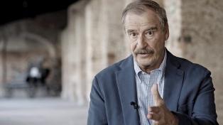 """Vicente Fox le desea """"lo peor"""" a Trump y propone """"echar"""" a Maduro"""