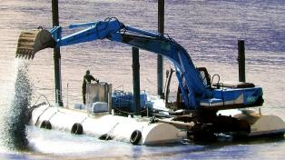 Anunciaron la finalización del dragado del Río de la Plata y del Río Uruguay