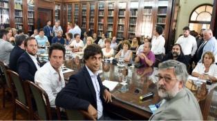 Docentes y funcionarios retoman el miércoles las reuniones paritarias