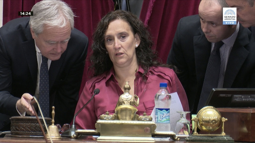 Pichetto enfureció y abandonó el Senado mientras discutían el desafuero de Cristina