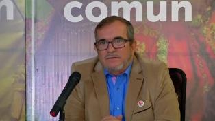 """Timochenko pidió al partido FARC mantener la """"cohesión"""" tras la detención de Santrich"""