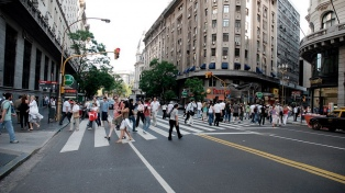 Las muertes de peatones en siniestros viales aumentaron un 15 por ciento durante 2018