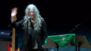 Patti Smith en el CCK: un cautivante y apasionado grito de libertad