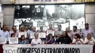 """El Gobierno cuestionó la """"mezquindad política"""" de CTERA por llamar a un paro"""