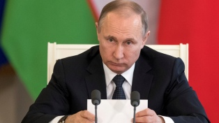 Bajo presión internacional, Putin se apresta a lograr su cuarto mandato