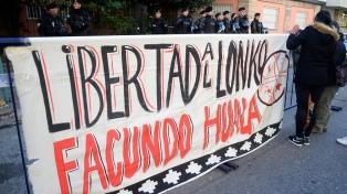 """Fiscal chileno adelantó que pedirá """"prisión preventiva"""" de Jones Huala"""