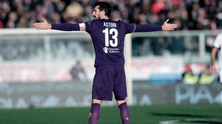 Fiorentina rindió un emotivo tributo a su fallecido capitán
