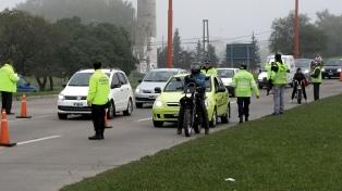 Fuerte incremento de los operativos de control vehícular en rutas del país