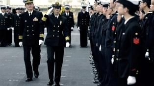 Por primera vez una mujer es comandante de una flota de guerra