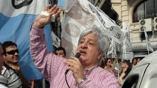 Piumato ratificó el paro y la marcha de este jueves