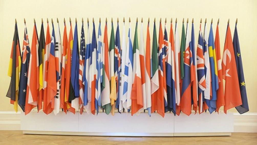 Banderas de los miembros de la OCDE