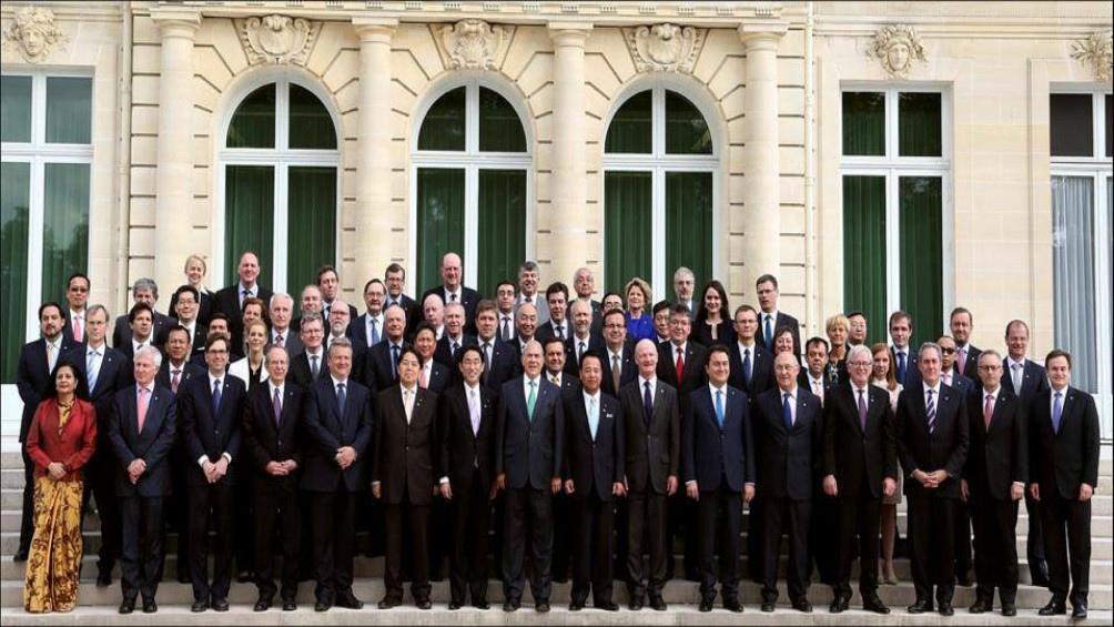 Reunión de ministros de la OCDE