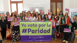 Lifschitz envió a la legislatura un proyecto de ley de paridad de género electoral
