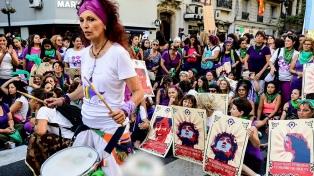 Las mujeres reivindicaron sus derechos en toda la región