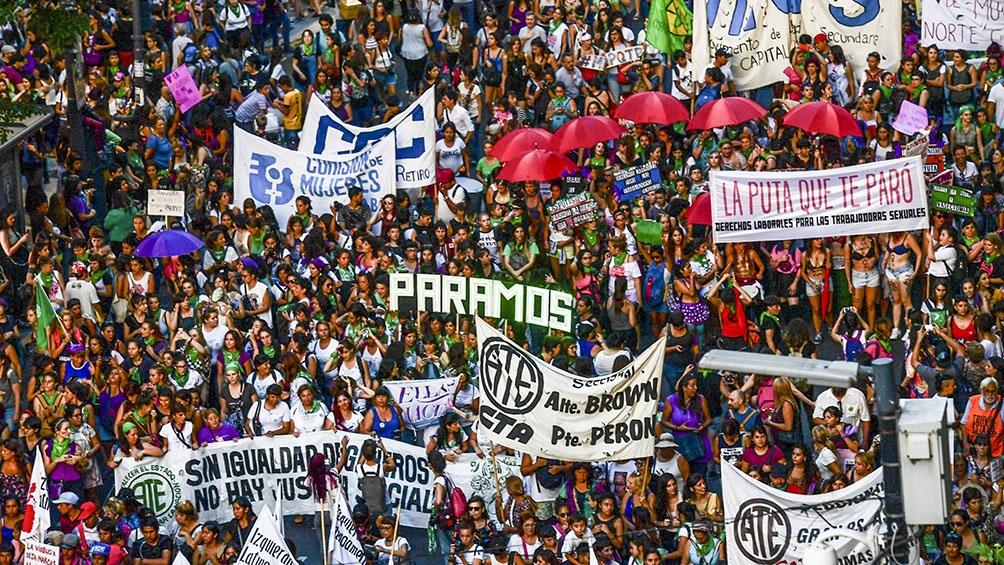 País: Así se vivió la marcha del 8M en todo el país