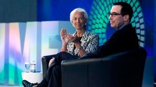 Lagarde y el titular del Tesoro de EE.UU. asistirán a la cumbre del G20 en Buenos Aires