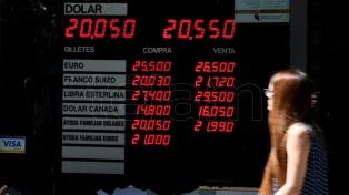 El Banco Central volvió a intervenir y el dólar cedió 14 centavos